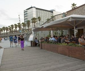 Gran terraza en Barcelona