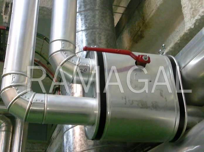 Venta de chapa de aluminio y pvc para calorifugados: Servicios de RAMAGAL, S.C.