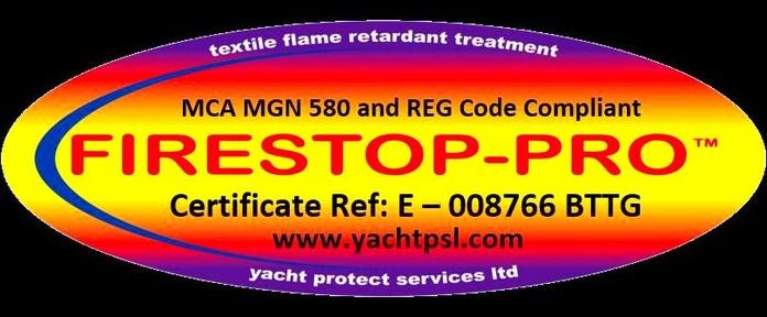 FIRESTOP - PRO // FIRE RETARDANT // MCA MGN 580