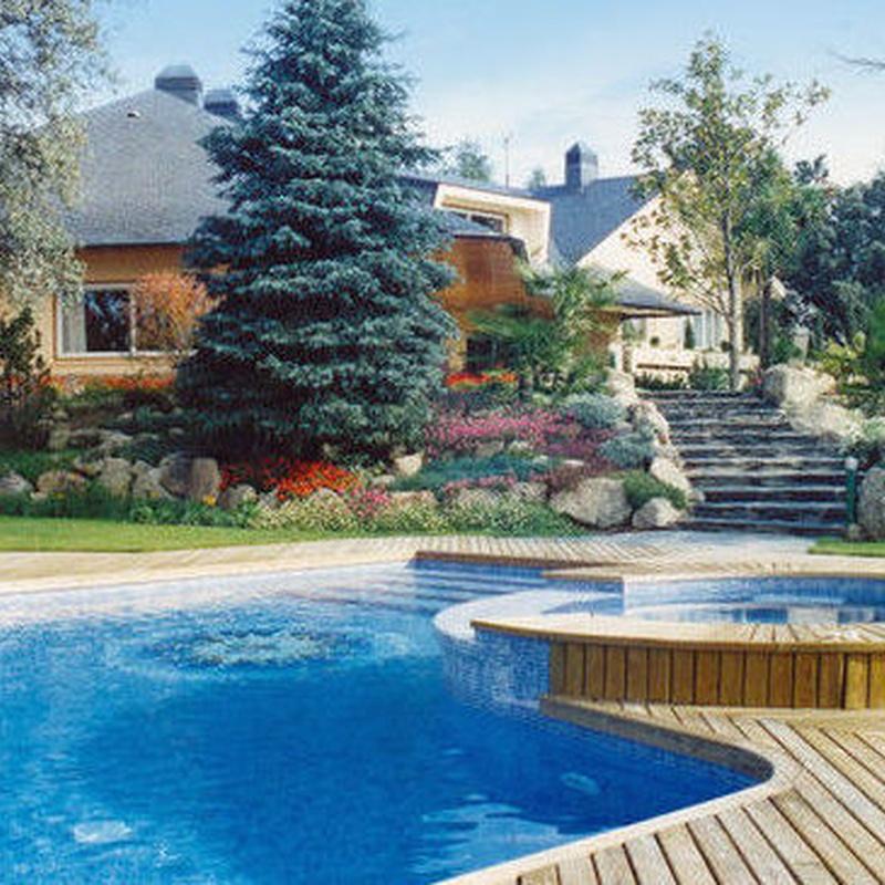 Diseño y Construcción piscinas: Productos y servicios de Piscinas Castilla - Construcción y Rehabilitación