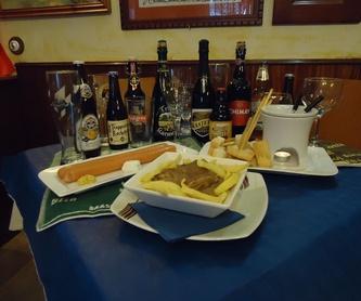 Postres hechos en casa: Carta y menú de Restaurante Bar X