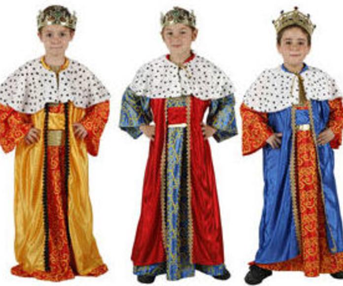 Disfraz Rey Mago, colores surtidos