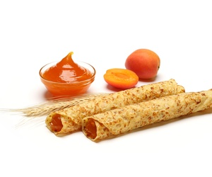 crepes con relleno de mermelada de albaricoque 71.5g