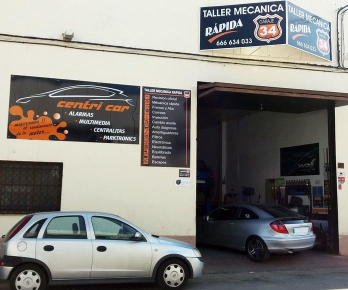 Taller de coches en Málaga   Taller mecánico Garaje 34 - Centricar
