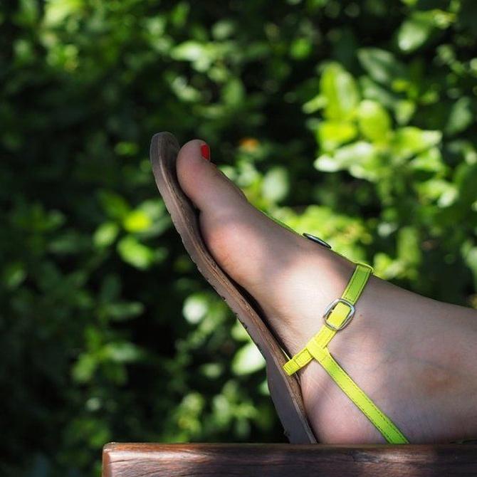 Las ventajas de llevar sandalias
