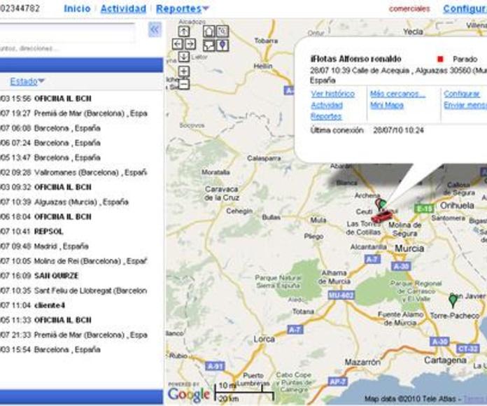 Sistemas de localización de vehículos y gestión de flotas: Productos de Sonivac