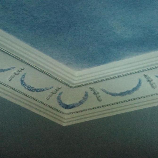 La decoración con escayola