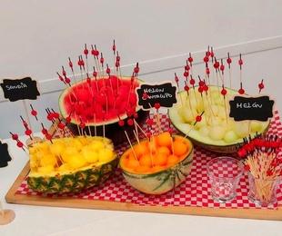 Bolitas de Frutas Naturales