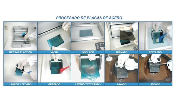 ARD-A06: Acero fotosensible para clichés:  de Pad Printer Ibérica, S.L.