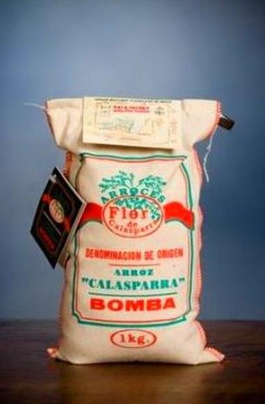 Arroz Bomba Flor de Calasparra D.O saco 1 kg: PRODUCTOS|TIENDA ONLINE de Arroces Flor de Calasparra