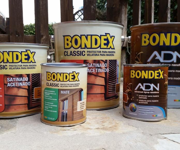 Bondex Classic y Bondex ADN al agua