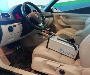 Limpieza de vehiculos con ozono