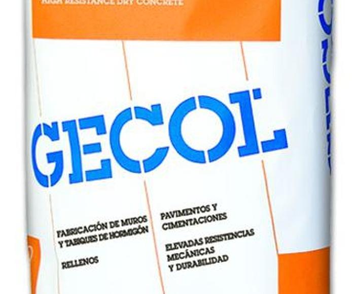 HORMIGON SECO GECOL