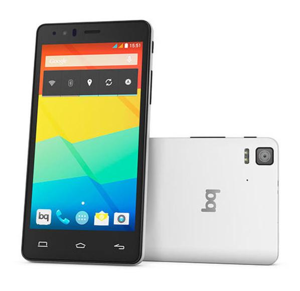 BQ AQUARIS E5 LIBRE: Productos y servicios de Creative Mobile