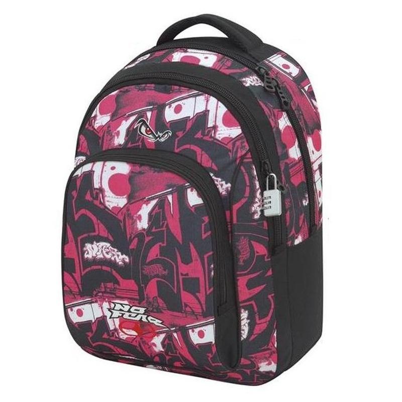 Mochila No Fear Tags Pink. Doble Cuerpo. Sport Tandem. 8412782433082