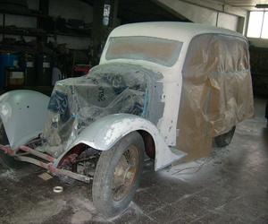 Restauración de coches clásicos y de época