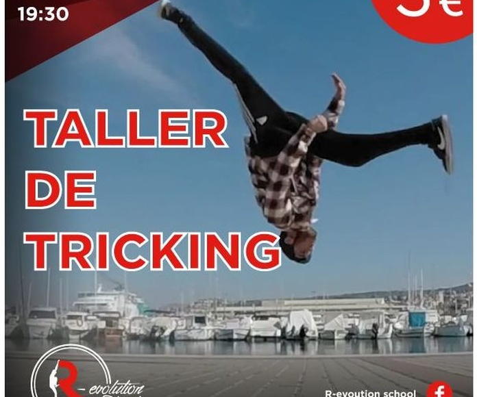 Taller de Tricking en R-evolution School!