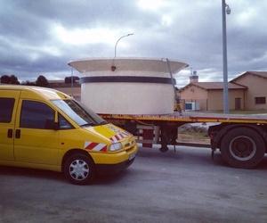Acompañamiento a transportes especiales por carretera