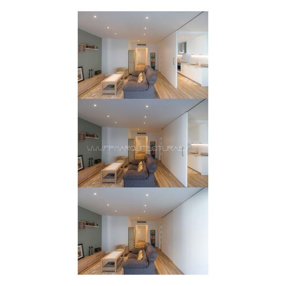 www.architectsitges.com   Espacio flexible entre sala y cocina