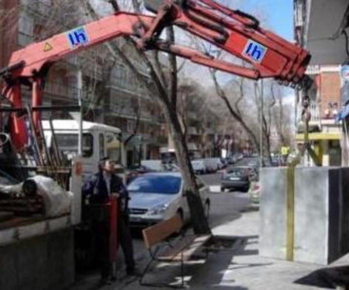 Transporte : Productos y servicios   de Cajas Fuertes López H.