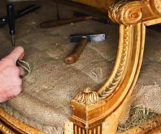 Máster en restauración y reciclaje de mobiliario: Servicios de ESCUELA TRINEL