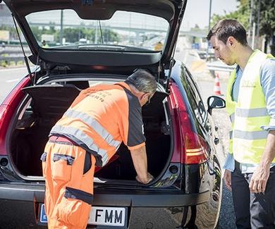 Protocolo de Auxilio en Carretera