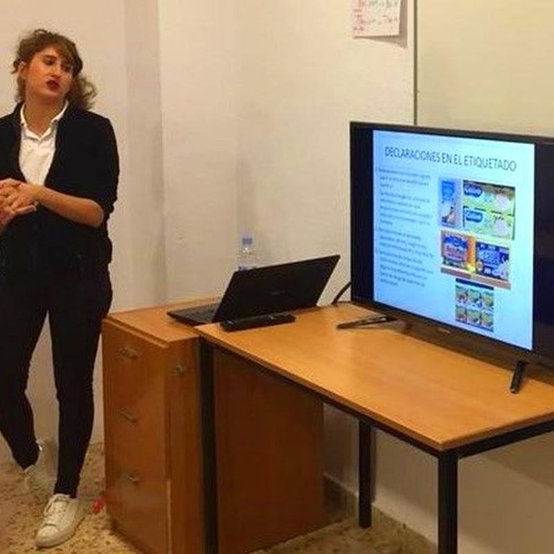 Charla de Etiquetado Nutricional: Servicios y Talleres de Melody García Nutrición