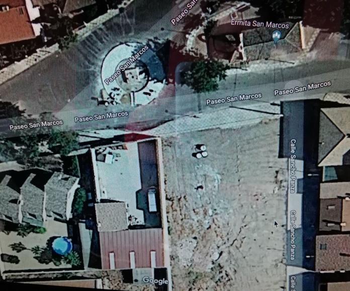 Venta de solar en calle San Marcos esquina con Sancho Panza: Inmuebles de Inmobiliaria Minerva