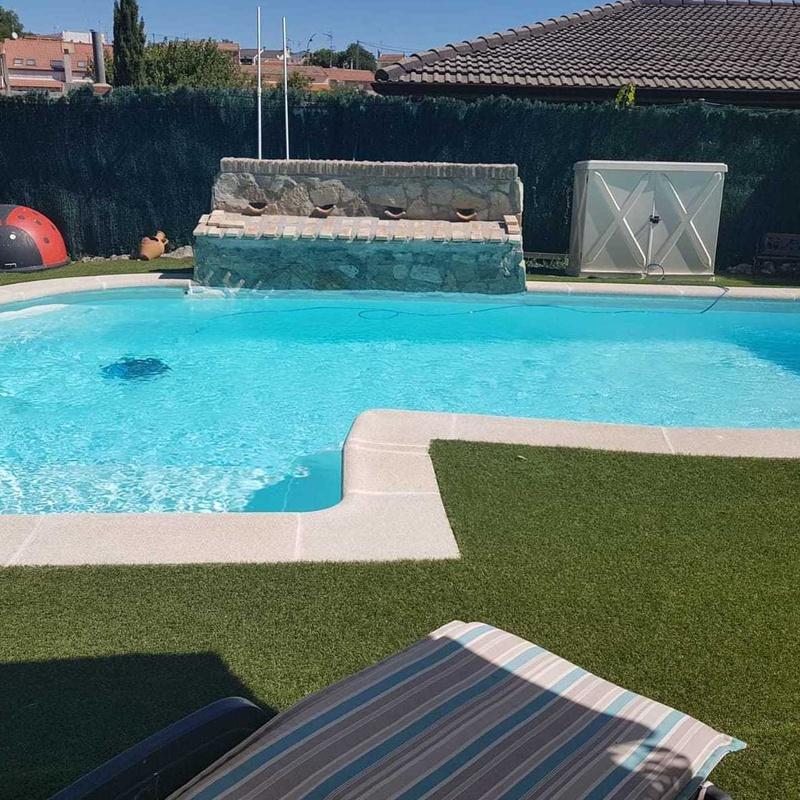 Revestimiento piscina con poliéster