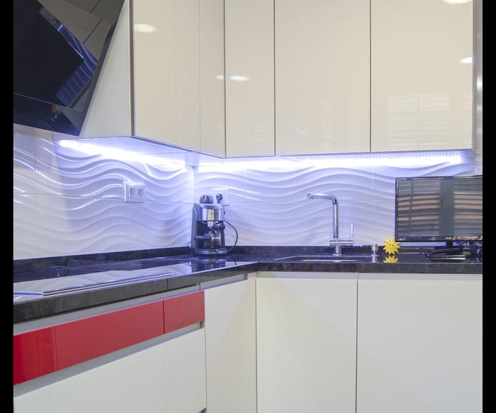 Muebles de Cocina - Proyecto realizado en Madrid: Catálogo de Diseño en Cocinas MC
