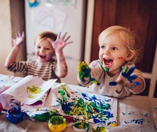 Cómo pintar la cara de tus hijos de forma divertida