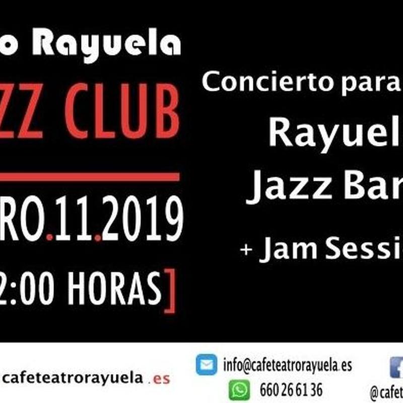 Rayuela Jazz Band: Programación de Café Teatro Rayuela