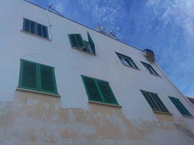 Fachada en es Coll den Rebassa ( Mallorca)