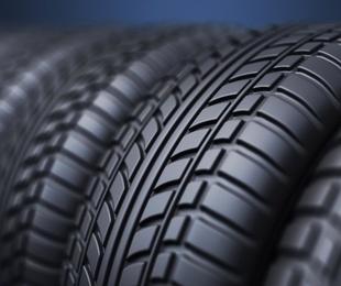 Los neumáticos de lluvia
