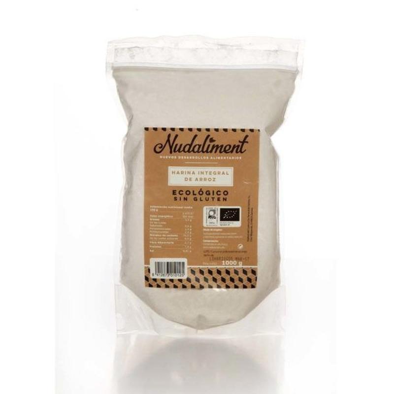 Harina de arroz integral ecológica sin gluten 1000 gr: Productos de Coperblanc Zamorana