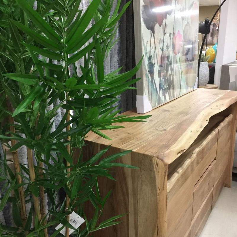 Decoración rustica madera maciza