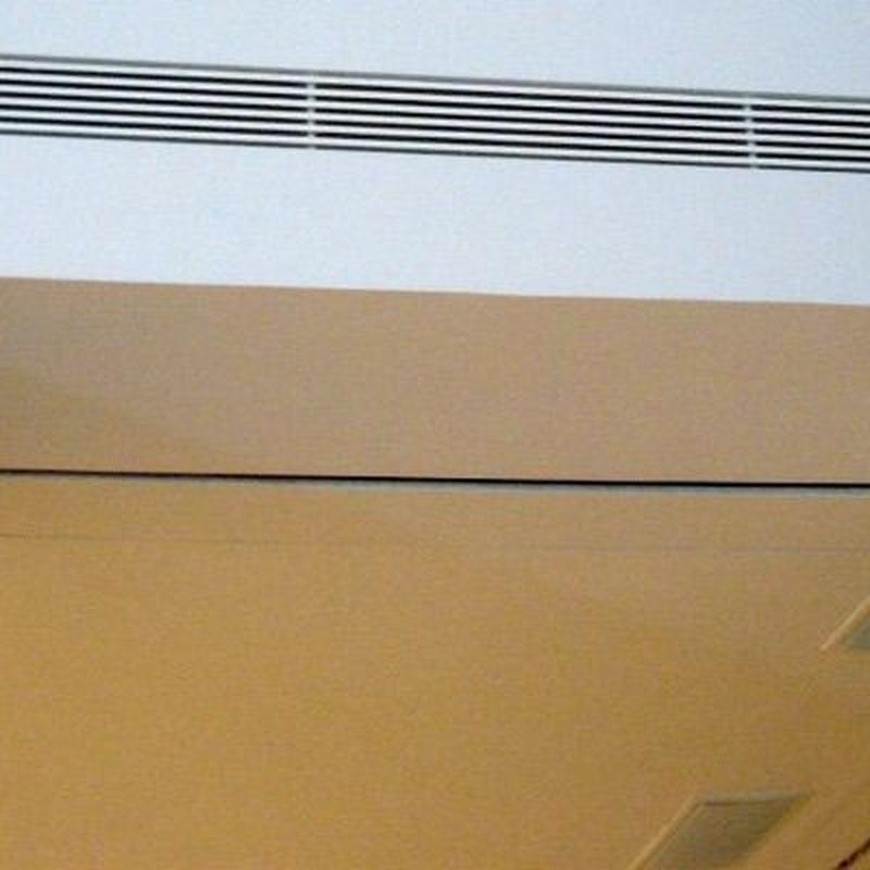 Rejillas y termostatos: Servicios de Cliseva