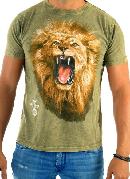 Camiseta Hombre León Rugiendo / Lion Roar Man´s T-Shirt: Productos de BELLA TRADICION