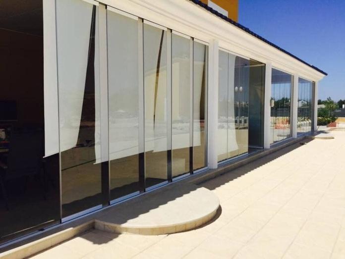 Cortinas de cristal: Servicios de Aluminios Tecfuer