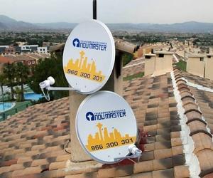 Antenas parabólicas en Alicante