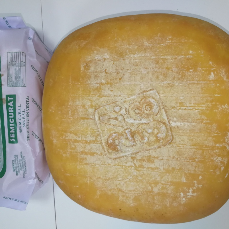 Pieza queso Santa Catalina Semi 2,350-2,550 Kg:  de Ramaders Agrupats