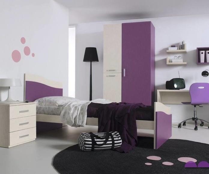 Dormitoriios Juveniles: Mobiliario y Servicios de Muebles Sijosa