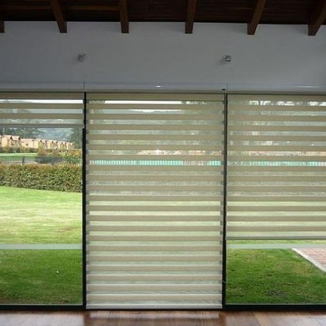 Las cortinas enrollables
