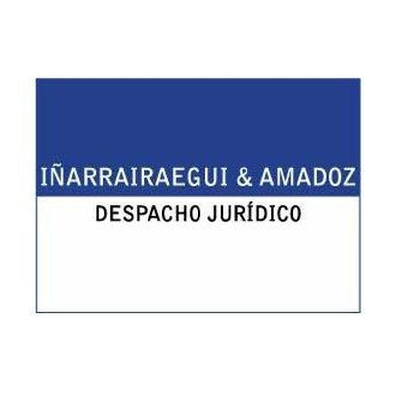 Productos y servicios: Especialidades jurídicas de Iñarrairaegui & Amadoz