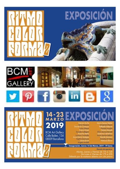 Revista BOONART Exposición Ritmo, color y FORMA 2: Exposiciones y artistas  de BCM Art Gallery