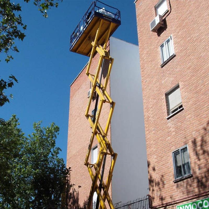 Trabajos verticales (con o sin andamio): Trabajos realizados  de Cubiertas Imperdur, S.L.