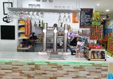 Cafetería, bocatería y tapas