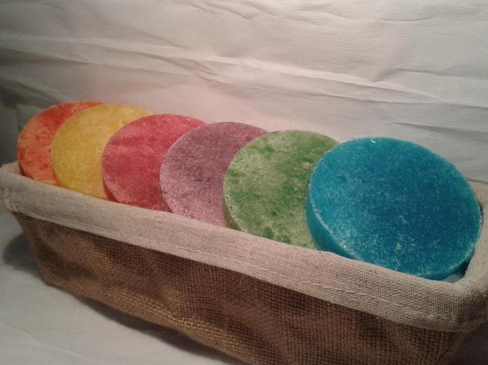 cesta surtido esponjas