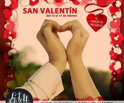 Oferta especial San Valentin