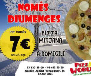 Restaurante pizzería en Sant Boi de Llobregat | Pizza World